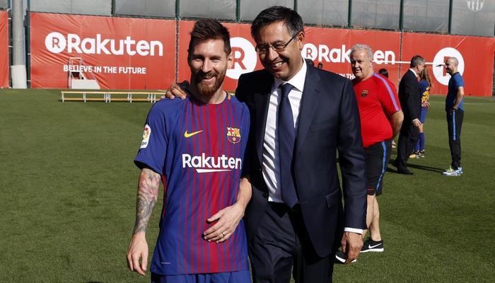 """Президент """"Барселоны"""" прокомментировал вероятность ухода Месси"""
