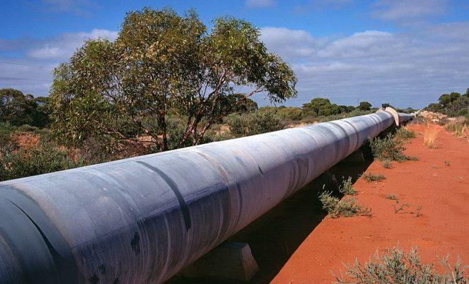 В результате повреждения магистрального водопровода  приостановлена подача воды в Говсан